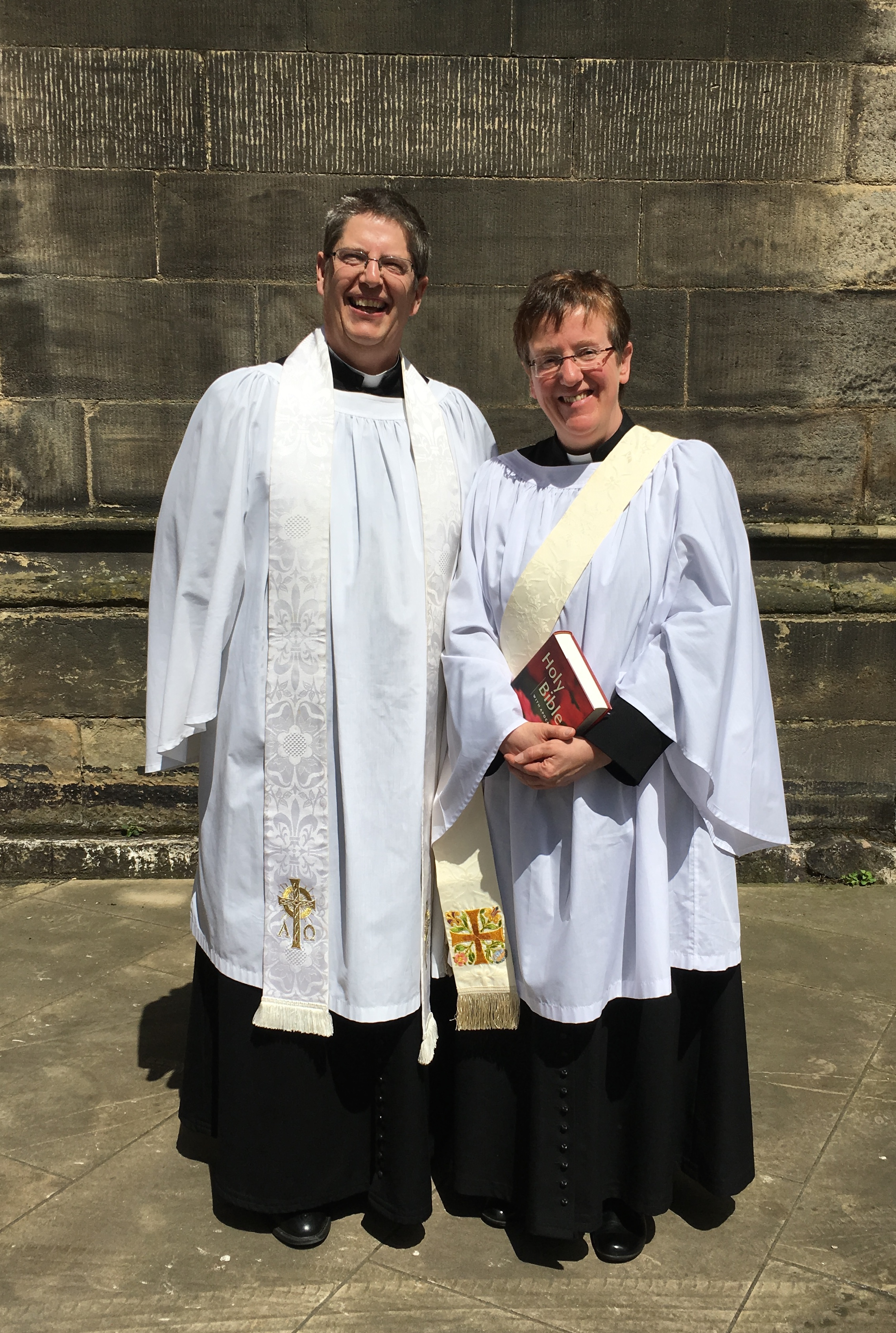 The Vicar and Assistant Curate