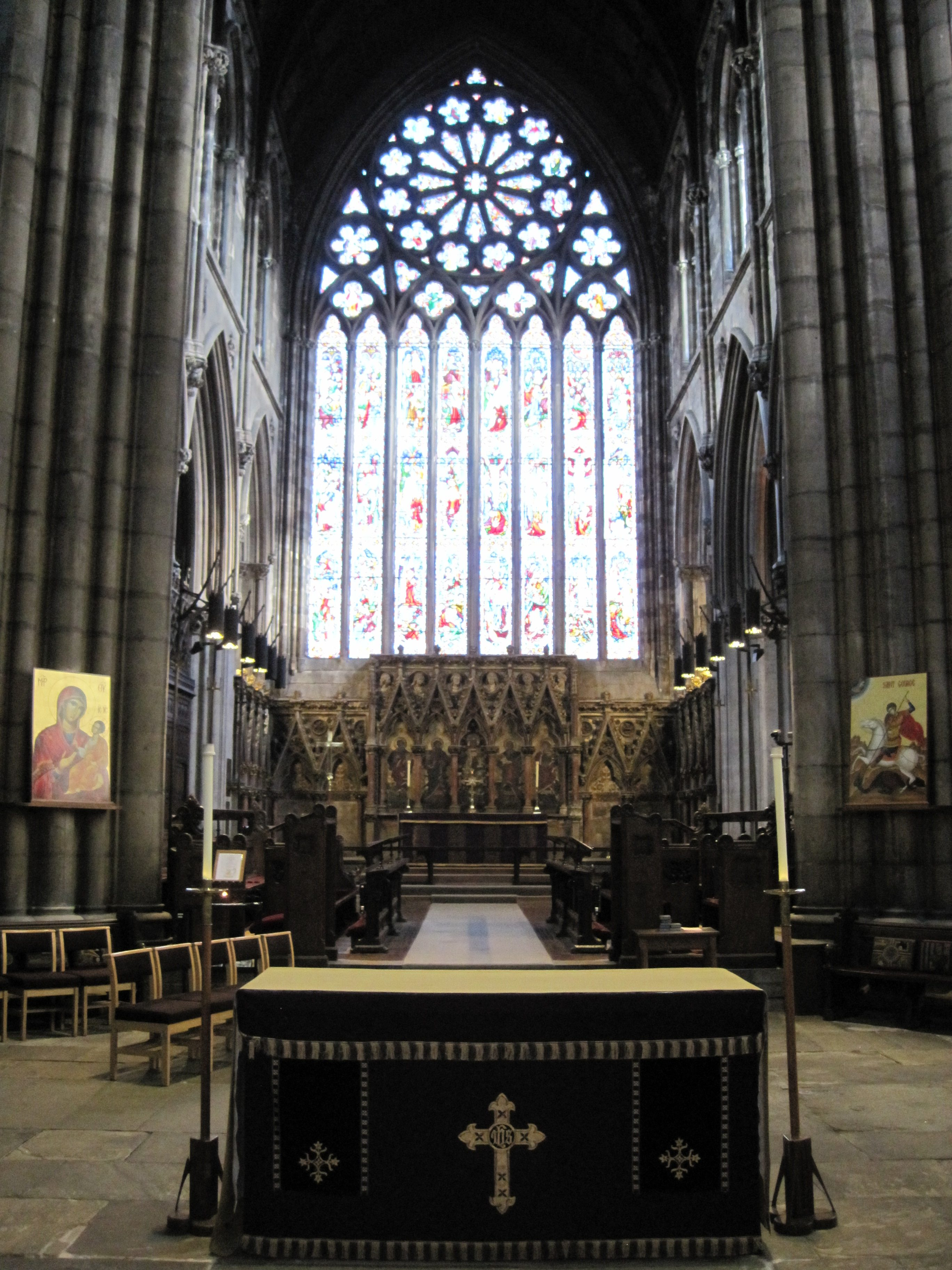 The High Alter and Great East Window