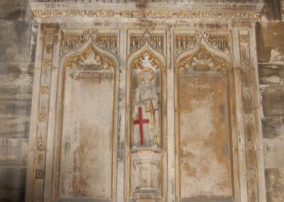 WW1 Memorial  Restoration progresses