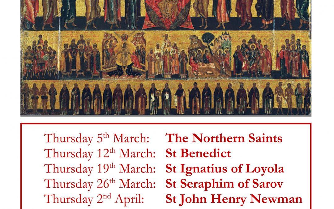 Following the Saints