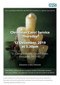 NHS Carol Service @ Doncaster Minster | England | United Kingdom