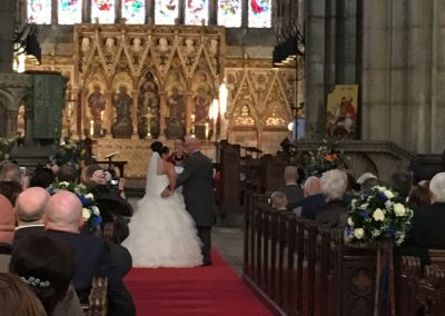 A Minster Wedding