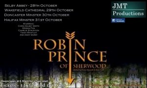 Robin Prince of Sherwood @ Doncaster Minster